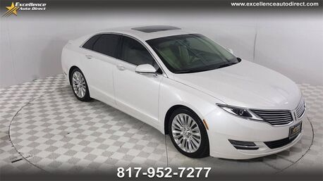 2015_Lincoln_MKZ_PADDLE SHIFTER,BUCKET SEATS,MOONROOF,BCK-CAM,BLUET_ Euless TX