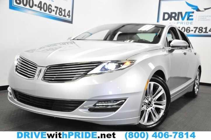2015 Lincoln MKZ 2.0L AWD 18K 1 OWN REMOTE START REAR CAM SENSORS HEATED SEATS Houston TX