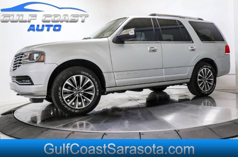 2015 Lincoln NAVIGATOR LEATHER NAVI EXTRA CLEAN 3RD ROW LIKE NEW Sarasota FL
