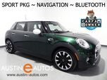 2015 MINI Cooper 4 Door *NAVIGATION, SPORT PACKAGE, VISUAL BOOST, 17 ROULETTE SPOKE ALLOYS, LED HEADLIGHTS, BLUETOOTH PHONE & AUDIO