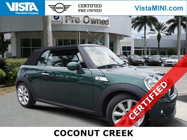 2015 MINI Cooper Convertible S Coconut Creek FL