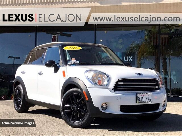 2015 MINI Cooper Countryman  San Diego County CA