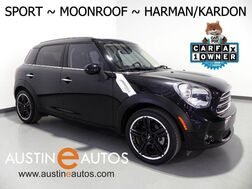 2015_MINI_Cooper Countryman_*6-SPEED, SPORT PKG, PANORAMA MOONROOF, HARMAN/KARDON, VISUAL BOOST, PARK DISTANCE CONTROL, BLUETOOTH_ Round Rock TX