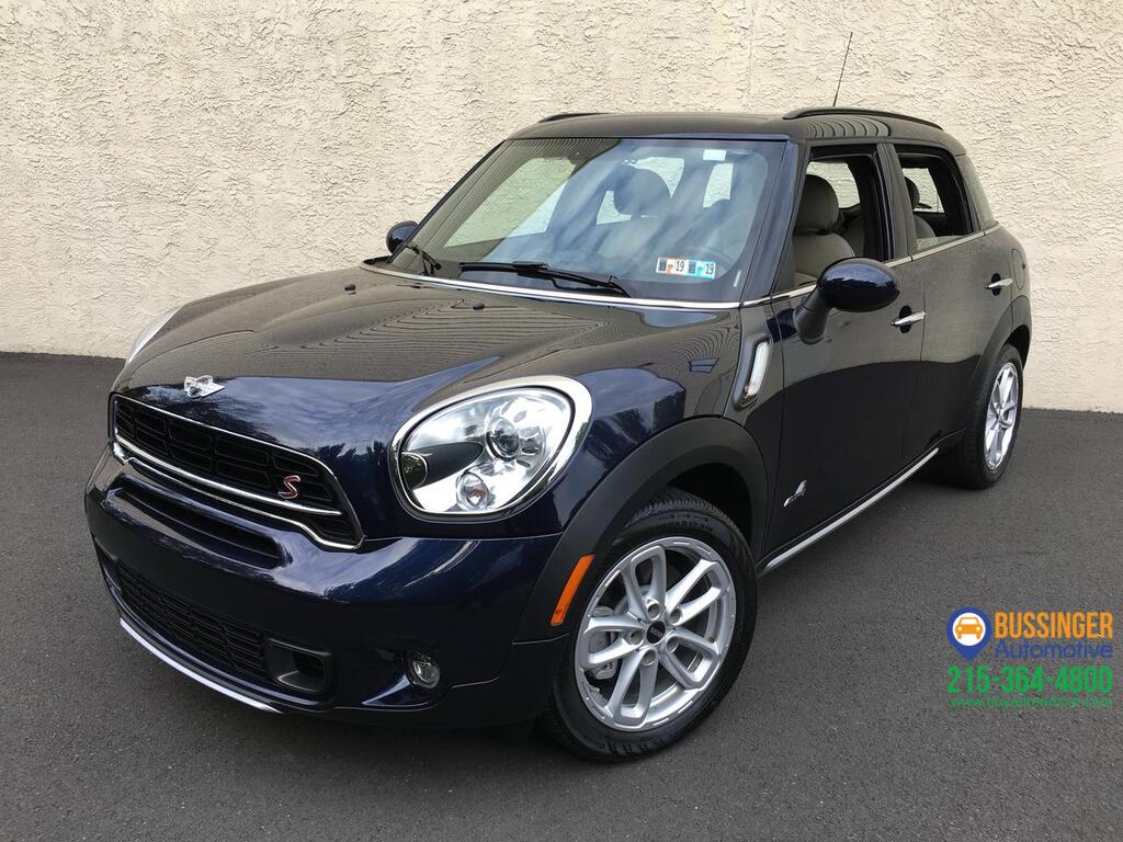 2017 Mini Cooper Countryman S All Wheel Drive W Navigation Feasterville Pa