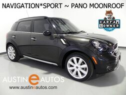 2015_MINI_Cooper Countryman S_*NAVIGATION, SPORT PKG, PANORAMA MOONROOF, HARMAN/KARDON, VISUAL BOOST, HEATED SEATS, COMFORT ACCESS, BLUETOOTH_ Round Rock TX