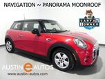2015 MINI Cooper Hardtop *AUTOMATIC, NAVIGATION, PANORAMA MOONROOF, VISUAL BOOST, STEERING WHEEL CONTROLS, BLUETOOTH PHONE & AUDIO