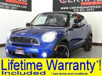 MINI Cooper PACEMAN S SPORT PKG PREMIUM PKG TECHNOLOGY PKG NAVIGATION PKG WIRED PKG 2015