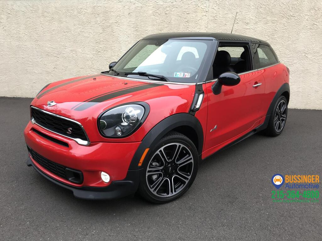 2015 MINI Cooper Paceman S - All Wheel Drive Feasterville PA