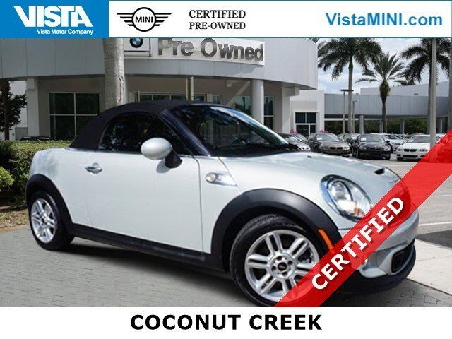 2015 MINI Cooper Roadster S Coconut Creek FL