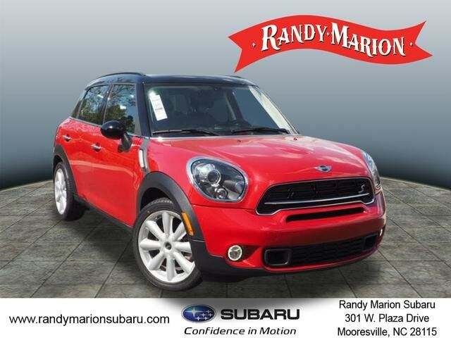 2015 Mini Cooper S Countryman Base Mooresville Nc 29643673