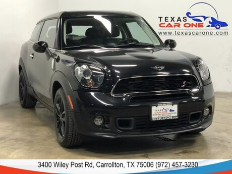 2015 MINI Paceman S ALL4 AUTOMATIC PREMIUM PKG PANORAMA LEATHER HEATED SEATS HARMA Carrollton TX