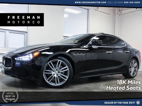 2015_Maserati_Ghibli_18K Miles Heated Seats Backup Cam_ Portland OR