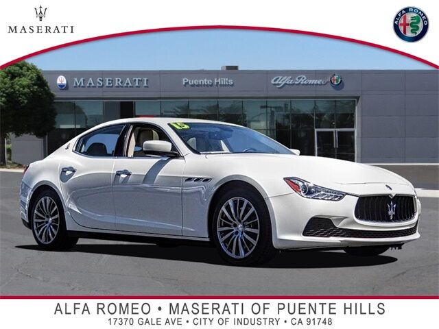 2015 Maserati Ghibli Base City of Industry CA