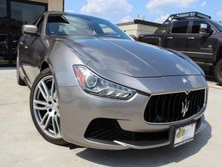 Maserati Ghibli GHIBLI,PADDLE SHIFTER,RED INSIDE,LOW MILES! 2015