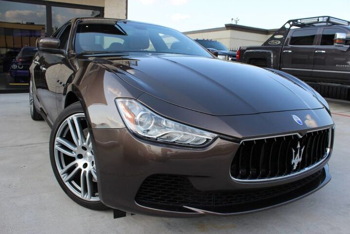 2015 Maserati Ghibli GHIBLI,SPORT, 8K MILES ONLY,1 OWNER,WARRANTY! Houston TX