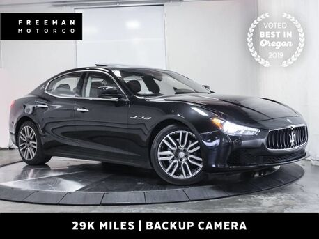 2015_Maserati_Ghibli_Just 29K Miles Heated Seats Backup Cam_ Portland OR