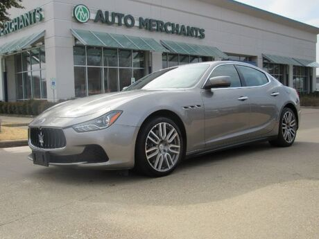 2015 Maserati Ghibli LEATHER SEATS, NAVIGATION, SUNROOF, HEATED FRONT SEATS, BLUETOOTH CONNECTIVITY Plano TX