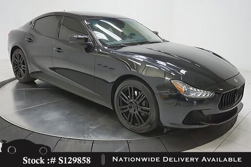 2015_Maserati_Ghibli_NAV,CAM,SUNROOF,HTD STS,19IN WHLS,HID LIGHTS_ Plano TX