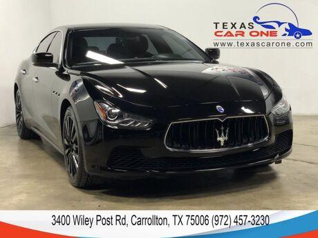 2015 Maserati Ghibli NAVIGATION LEATHER SEATS REAR CAMERA KEYLESS START BLUETOOTH Carrollton TX