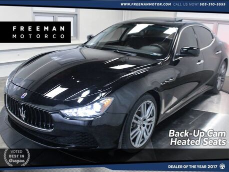 2015_Maserati_Ghibli_Navigation Heated Seats Back-Up Cam_ Portland OR