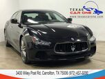 2015 Maserati Ghibli S Q4 AWD NAVIGATION SUNROOF LEATHER HEATED SEATS REAR CAMERA KEY