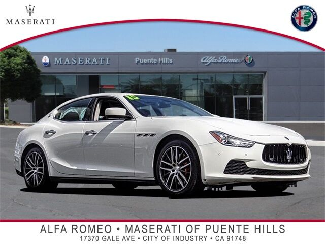 2015 Maserati Ghibli S Q4 City of Industry CA