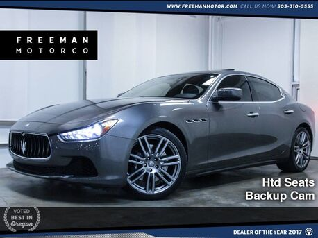 2015_Maserati_Ghibli_S Q4 Heated Seats Backup Cam Nav_ Portland OR