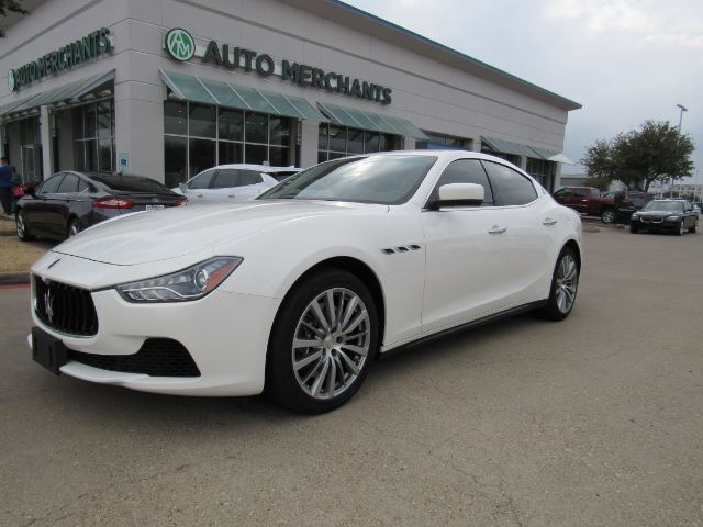 2015 Maserati Ghibli S Q4  NAVIGATION, SUNROOF, HEATED FRONT SEATS, BLUETOOTH CONNECTIVITY,  BACK-UP CAMERA Plano TX