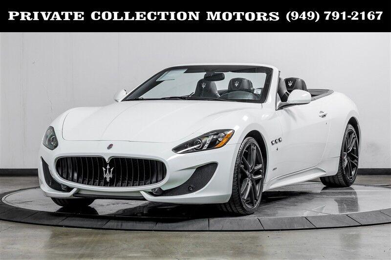 2015 Maserati GranTurismo Convertible Sport Costa Mesa CA