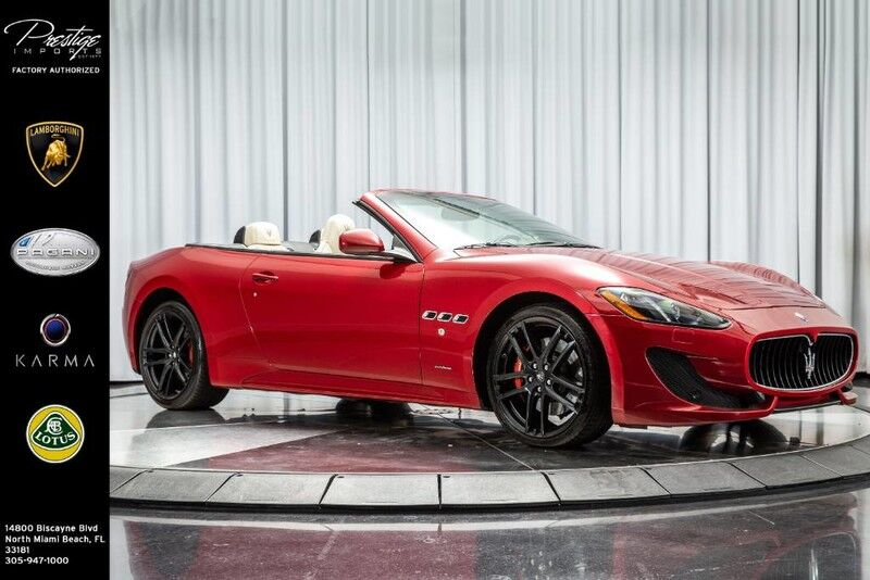 2015_Maserati_GranTurismo Convertible_Sport_ North Miami Beach FL