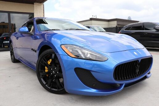 2015 Maserati GranTurismo Sport LOW MILES 1 OWNER FACTORY WARRANTY Houston TX