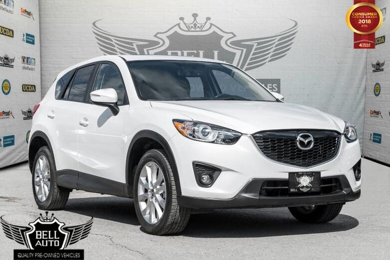 2015 Mazda CX-5 GT NAVI SUNROOF LEATHER BACKUP CAM Toronto ON