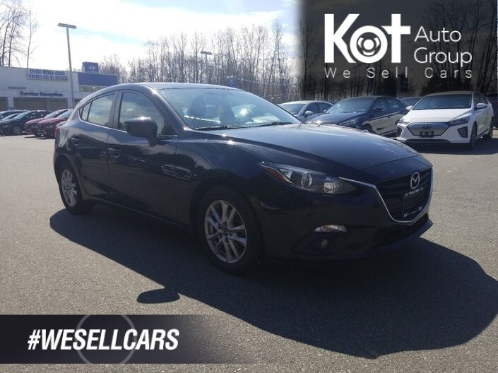 2015 Mazda MAZDA3 GS SPORT! HATCHBACK! SUNROOF! SPORT MODE! BACKUP CAM! BLUETOOTH! Kelowna BC