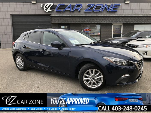 2015 Mazda Mazda3 GS HATCHBACK, AUTO, CONV PACKAGE Calgary AB