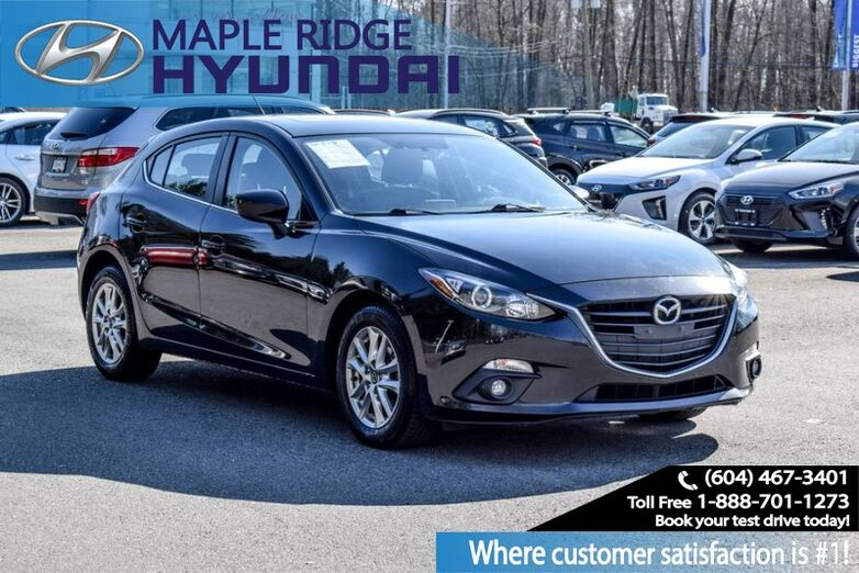 2015 Mazda Mazda3 GS Hatchback, Air Conditioning, Heated Seats, Push Button Start Maple Ridge BC