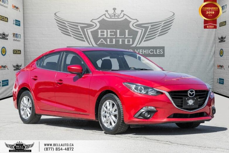 2015 Mazda Mazda3 GS, NAVI, BACK-UP CAM, SUNROOF, BLUETOOTH, VOICE CMND Toronto ON
