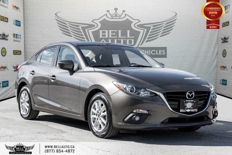 2015 Mazda Mazda3 GS, NAVI, BACK-UP CAM, SUNROOF, HEATED SEATS Toronto ON
