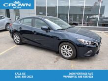 2015_Mazda_Mazda3_GS Sedan Manual 6 Speed *One owner/Serviced at Crown Mazda*_ Winnipeg MB