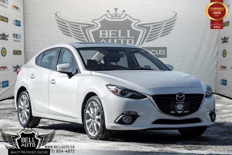 2015 Mazda Mazda3 GT NAVI, BLUETOOTH, BACKUP CAM, HEATED SEAT