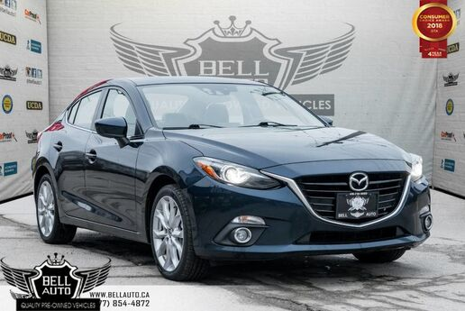 2015 Mazda Mazda3 GT NAVI, BLUETOOTH, BACKUP CAM, HEATED SEAT Toronto ON