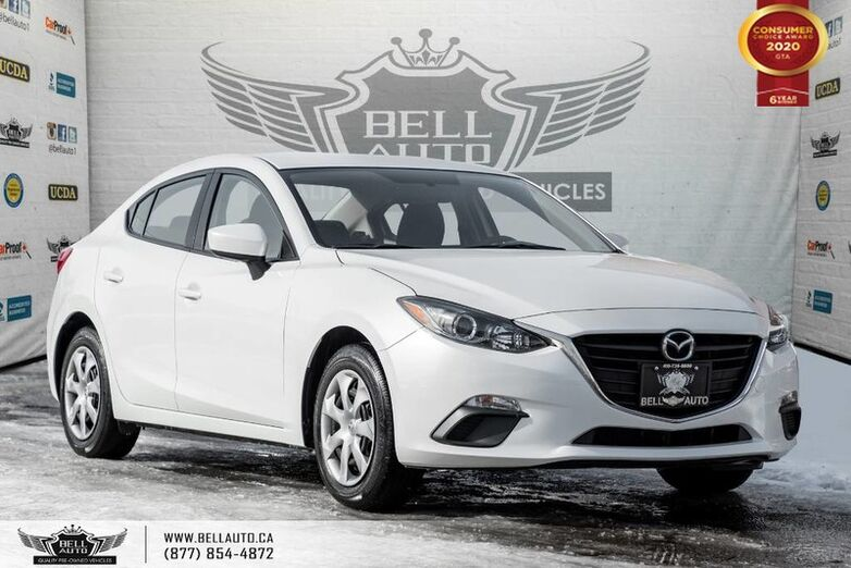 2015 Mazda Mazda3 GX, BACK-UP CAM, BLUETOOTH, PUSH START, TRACTION CNTRL Toronto ON