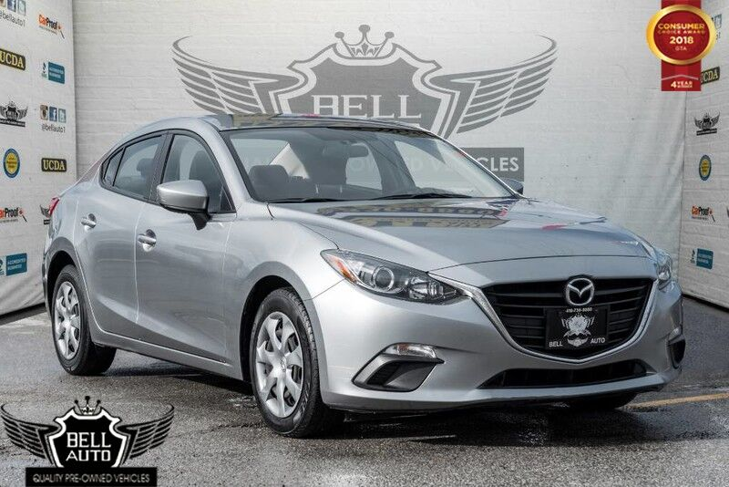 2015 Mazda Mazda3 GX BLUETOOTH CONNECTIVITY VOICE COMMAND/ RECOGNITION