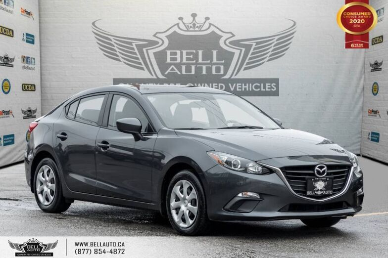 2015 Mazda Mazda3 GX, PUSH START, CRUISE CONTROL, BLUETOOTH. Toronto ON