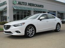 2015_Mazda_Mazda6_i Grand Touring  LEATHER SEATS, SUNROOF, NAVIGATION, BLIND SPOT MONITOR, BACKUP CAMERA, HEATED FRONT_ Plano TX