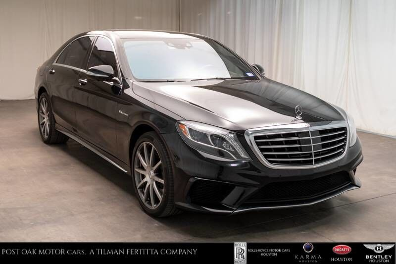2015 Mercedes-Benz AMG S 63 S 63 AMG Houston TX
