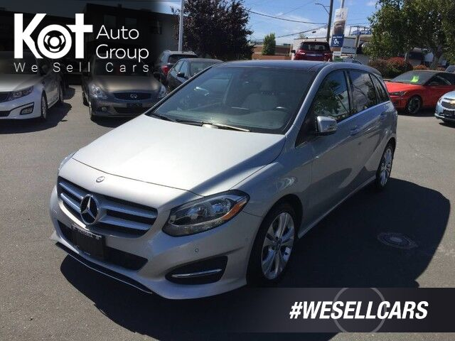 2015 Mercedes-Benz B-Class B 250 Sports Tourer SPORTY DRIVE! NO ACCIDENTS! Victoria BC