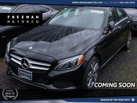 2015 Mercedes-Benz C 300 4MATIC Blind Spot Assist Back-Up Cam Pano Roof
