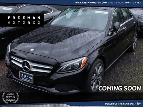 2015_Mercedes-Benz_C 300_4MATIC Blind Spot Assist Back-Up Cam Pano Roof_ Portland OR