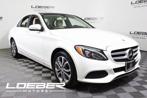 2015_Mercedes-Benz_C_300 4MATIC® Sedan_ Chicago IL