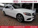 2015 Mercedes-Benz C 300 4MATIC Sedan, Premium Package, Rear-View Camera, Burmester Surround Sound, Bluetooth Streaming Audio, Heated Leather Seats, Panorama Sunroof, 18-Inch Alloy Wheels,